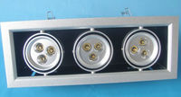 9W 3 Head Led Grille Light High Power