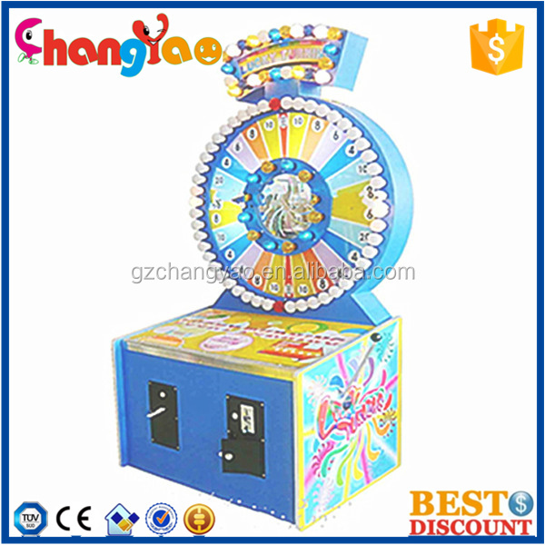 Lucky Turning Coin Operated Electronic Attractive New Gaming Machine