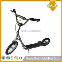 2016 China wholesale kick scooters New Style F-16inch/R-12inch Foot Pedal bmx scooter for sale