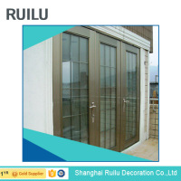 7100 attractive house and commerical aluminum door/ swing door for external prices