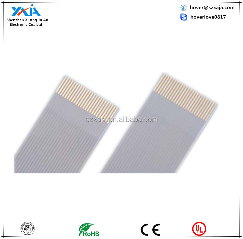 2.54mm custom 1.27mm 1.25mm ,1.0mm ,0.8mm 0.5mm Pitch ffc cable Ultrathin Flexible CD-ROM Driver FFC Cables
