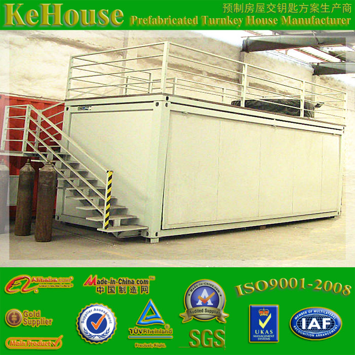 ISO sandwich panel mobile restaurant container house