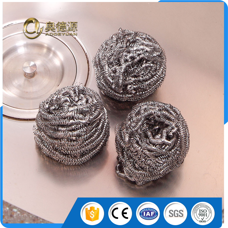 Best price stainless steel / 410 430 galvanized cleaning ball