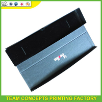 Black color cardboard pencil box for packaging