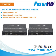Ultra HD 4K@30Hz HDMI Extender over IP/Fiber - wide band IR 38khz-56khz