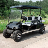4000W Custom 6 passenger Hotel Golf Cart and electrical hotel vehicle,off road golf cart with rear seater