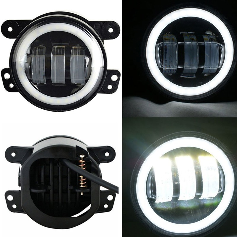 Aluminum part 1800lm 4 inch 6500k CREES 6 Leds Fog Lamp