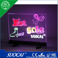 Alibaba china's new electronics outdoor billboard merry christmas led writing board