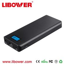 libower Hot sale quick charge 2.0 power bank hot selling 2017 6v 9v 12v 24v voltage portable