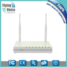 factory price wifi router 2 fxs port wireless voip router with 1 USB,5dBi antenna G802