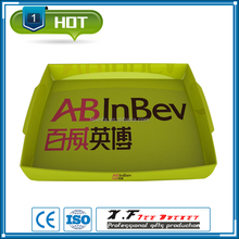 ps plastic beverage serving tray