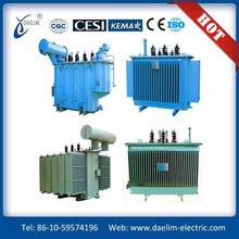 Top quality Three phase 6.3kv 250kva Oil immersed No load tap changer Distribution Transformer
