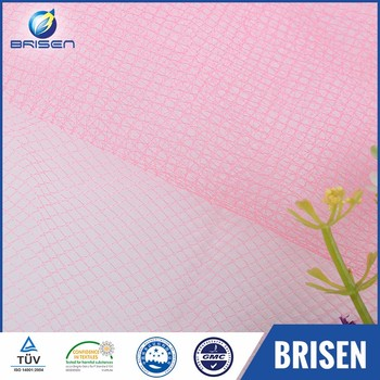 Fine decoration tulle bridal colorful manufacture upholstery fabrics