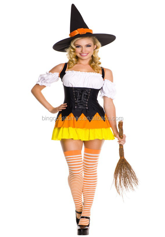 Wholesale Fancy Dress Fairytale Witch Dance Costume for Halloween