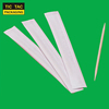 65mm Disposable Wooden Paperwrap Toothpick Bamboo