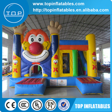 TOP INFLATABLES Hot selling air bouncer trampoline inflatable commercial bouncy castles with low price