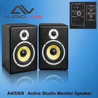 A4 Professional Active Studio Monitor Pro Audio Speaker