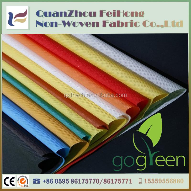 10 to 200gsm low price pp spunbond non-woven fabric price home textile fabric fabricas de tela