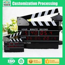 LED Director Playing Red Word PVC Board Electronic Clock