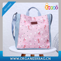 Encai Ladies Shoulder Bag Casual Printing Handbag