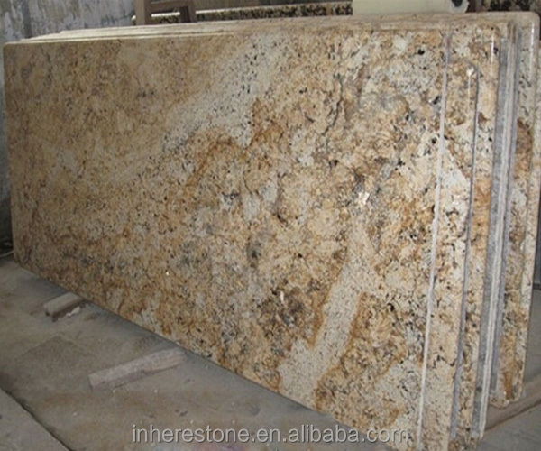 Golden persa table bases for granite tops