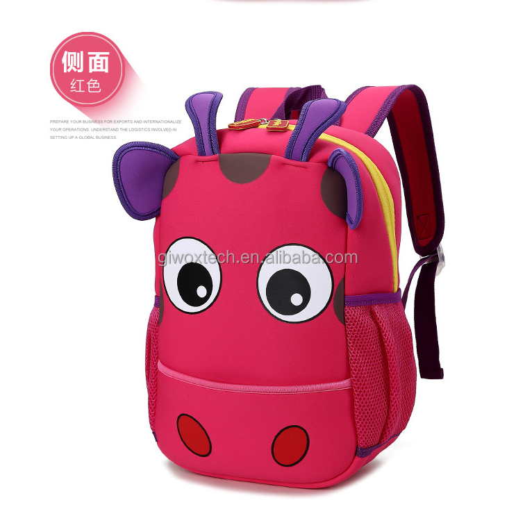 factory custom neoprene kids backpack