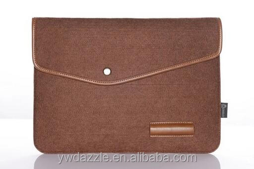 12 13 12.5 inch uniex fancy fashion soft polo leather felt laptop bags