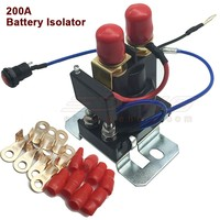 Dual power Battery Isolator DC12V 24V 200A auto increase battery