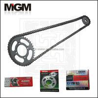 Manufactory OEM Quality motorcycle parts for chain and sprocket