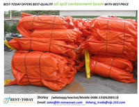 Solid Floatation Pvc Oil spill Containment Boom