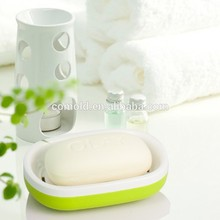 bathroom accessories plastic container shower soap dish holder