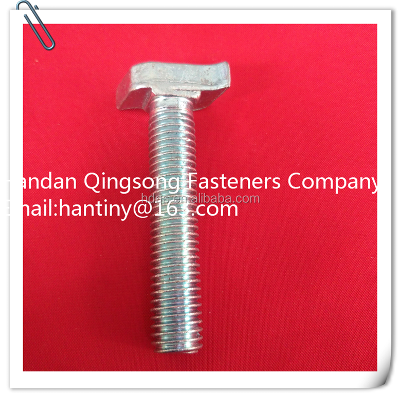 Custom Manufacture Plated Bolt Fasteners Bolt and Nut Set