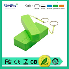 unique keychain power bank,2600mah portable cell phone battery charger,power bank usb charger 2600mah
