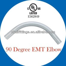 UL listed Steel EMT conduit elbow 90 degree high quality