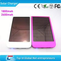 2600mah solar battery case charger for iphone 4
