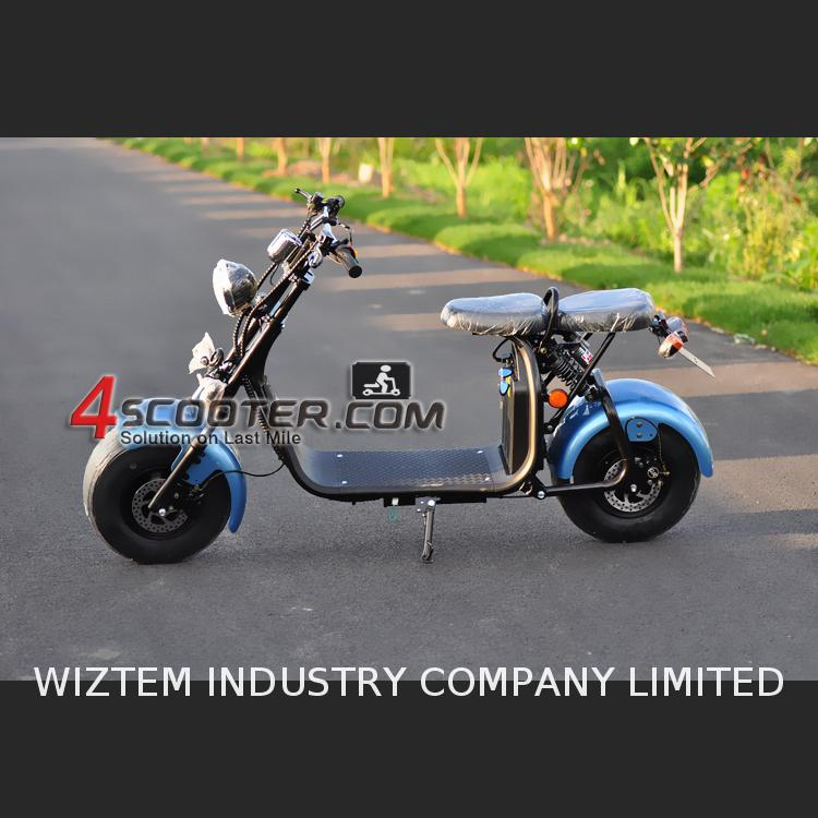 EEC COC Electric Scooter Citycoco 60KM range wheels spare parts 2000w