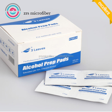 sterile alcohol prep pads soft absorbent and non woven saturated with 70pct isopropyl alcohol