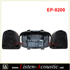 EP-8200 Portable USB Mp3 Player Wheels Speaker