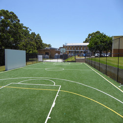 Sports Outdoor Artificial Grass Basketball Courts Flooring for Sale