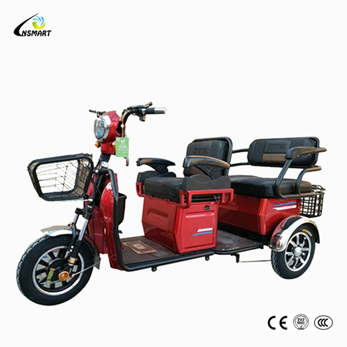 Low Price 350W Leisure Scooter Passenger Electric Tricycle And thai tuk tuk for sale