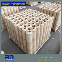 Refractory sleeve firebrick for steel industry