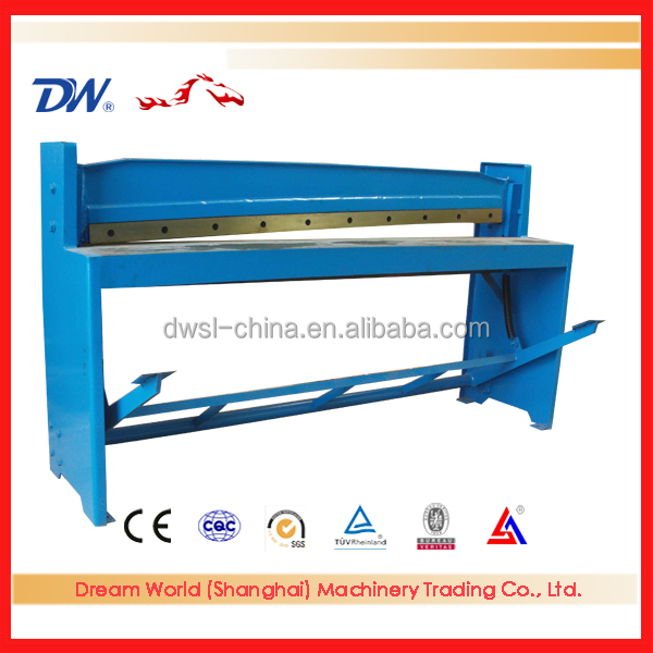 China Hot Sale stainless steel cutting machine , foot operate cutting machine , manual cutting machine