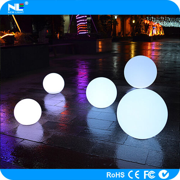 Alibaba hot sale LED flashing ball / color changing LED light up ball / waterproof floating LED ball light