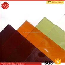 Unbroken & Transparent plastic 6mm Lexan Solid Polycarbonate Sheet