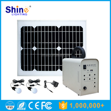 30W Mounting Solar Energy Power System with Mobile Charger for Ground Installation