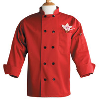 wholesale chef uniforms western red restaurant uniforms japanese cotton fabric chef uniforms