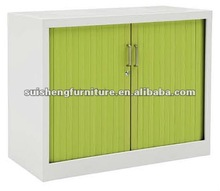 Good knock down steel roller shutter door storage filing cabinet