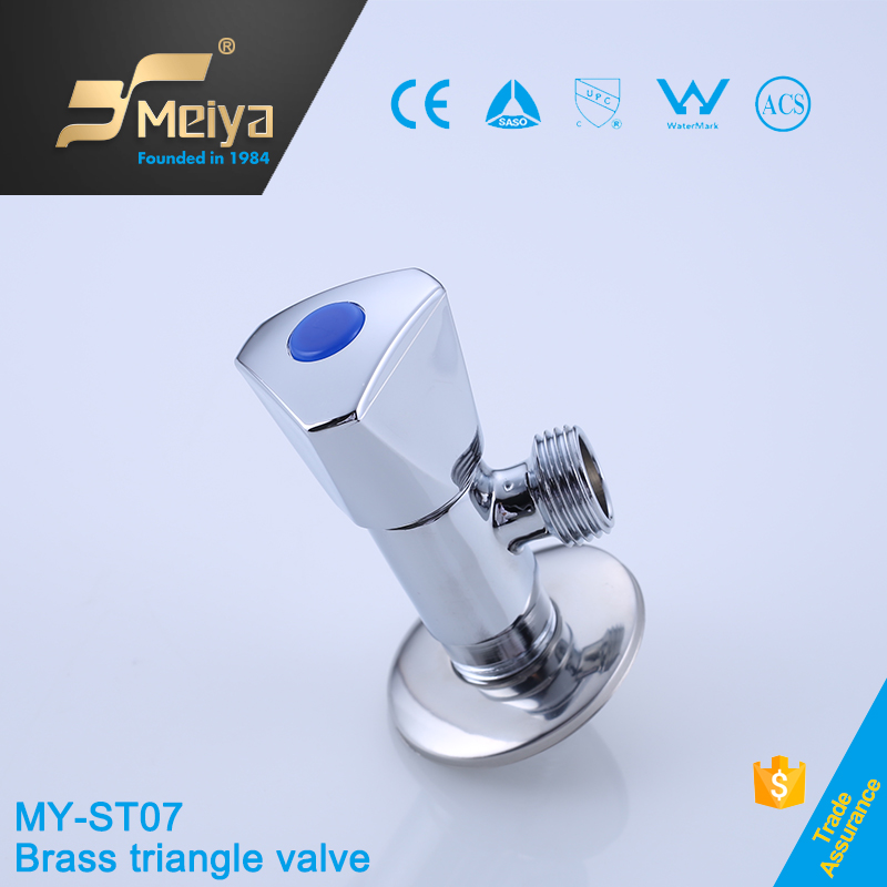 Meiya High Quality and Low Price Brass Angle Seat Valve