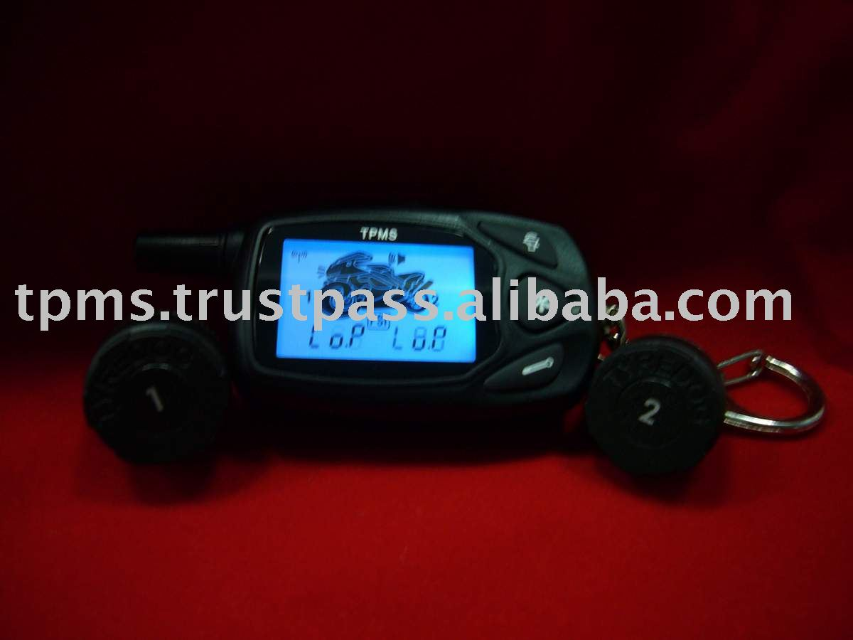 Top quality motorcycle TPMS monitor+Tire Pressure Monitoring System