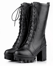 2017 girls genuine leather Dr martin dress boots shoes with lace up